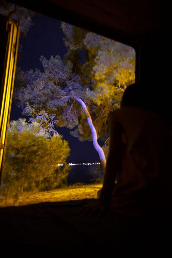 자다르에서의 밤