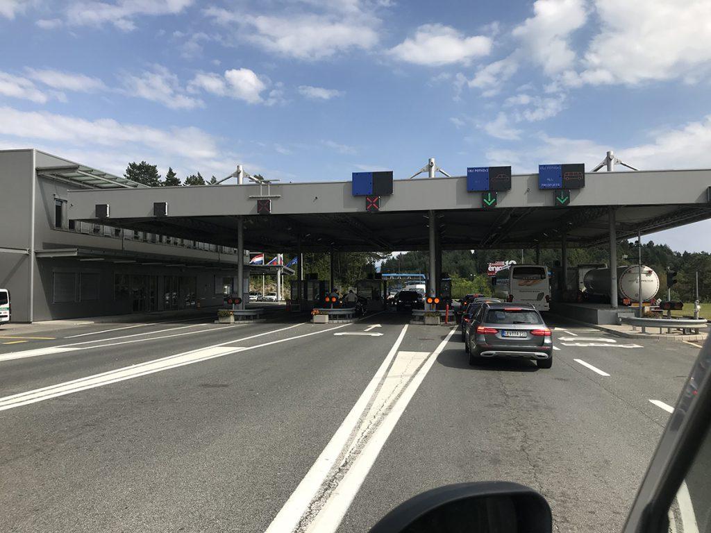 크로아티아 국경 검문소